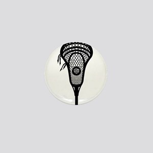 LAX Head Mini Button