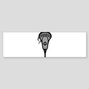 LAX Head Bumper Sticker