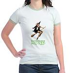 MY STEPCHILDREN MADE ME WICKED Jr. Ringer T-Shirt