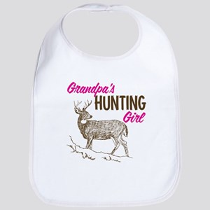 Grandpa's Hunting Girl Bib