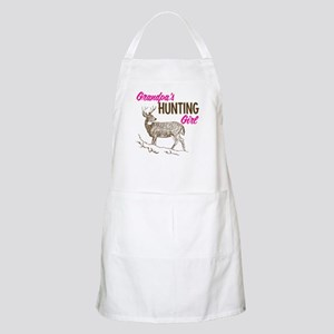 Grandpa's Hunting Girl BBQ Apron