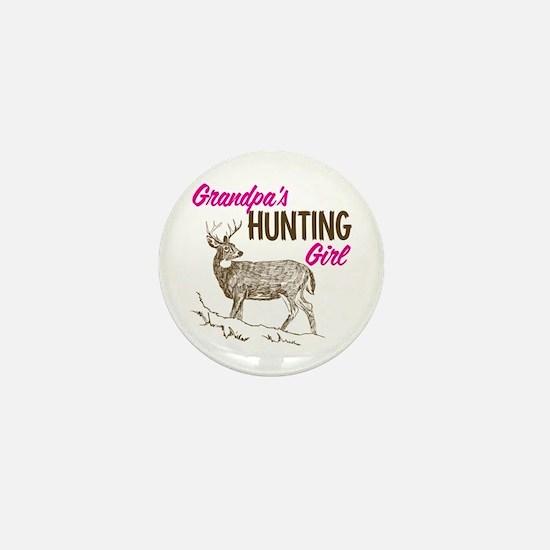 Grandpa's Hunting Girl Mini Button