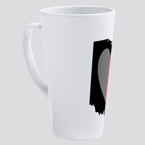 OHIO LOVE 17 oz Latte Mug
