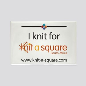 I Knit For Knit-A-Square Magnets
