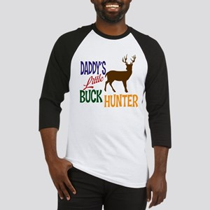 Daddy's Little Buck Hunter Baseball Jersey