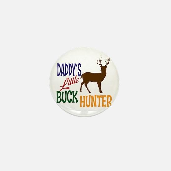Daddy's Little Buck Hunter Mini Button