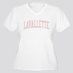 Lavallette New Jersey NJ Pink Women's Plus Size V-