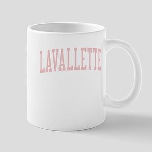 Lavallette New Jersey NJ Pink Mug