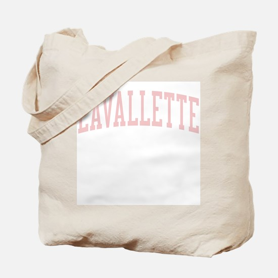 Lavallette New Jersey NJ Pink Tote Bag