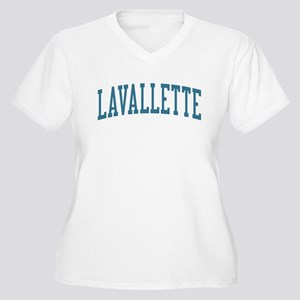 Lavallette New Jersey NJ Blue Women's Plus Size V-