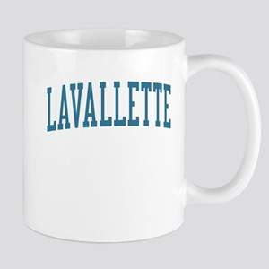 Lavallette New Jersey NJ Blue Mug