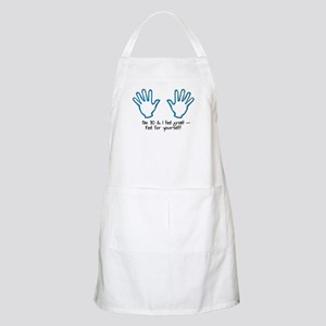 70th birthday feel for yourself BBQ Apron