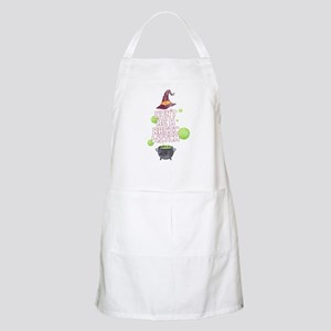 Don't Be a Basic Witch Spell Magic Hal Light Apron