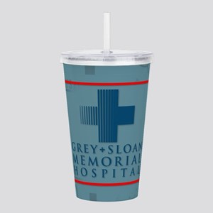Grey Sloan Hospital Acrylic Double-wall Tumbler