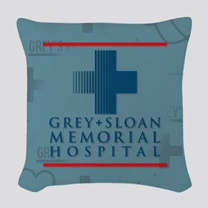 Grey Sloan Hospital Woven Throw Pillow