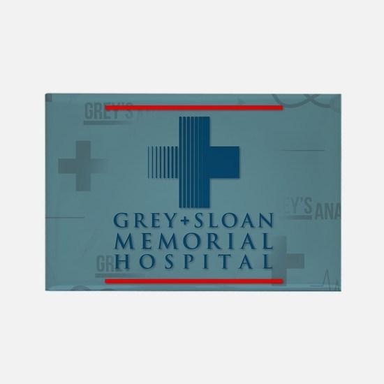 Grey Sloan Hospital Rectangle Magnet
