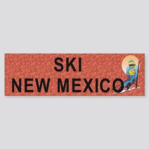 Ski New Mexico Sticker (Bumper)