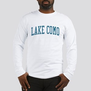 Lake Como New Jersey NJ Blue Long Sleeve T-Shirt
