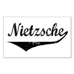 Nietzsche Rectangle Sticker
