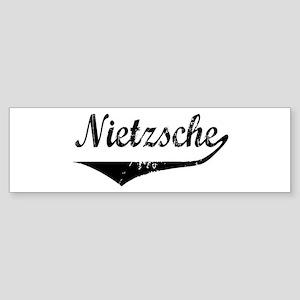 Nietzsche Bumper Sticker