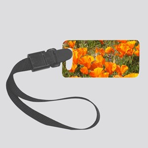 California Poppies Small Luggage Tag