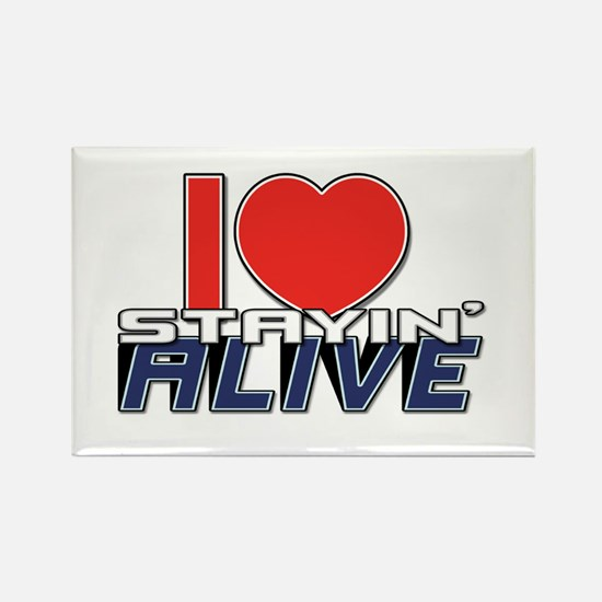 STAYIN ALIVE [I Love/I Heart Staying Alive] Rectan