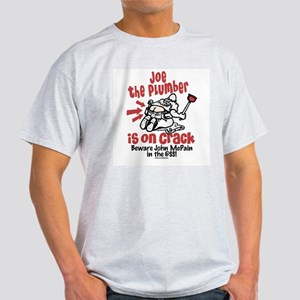 Joe the Plumber Anti-McCain Light T-Shirt