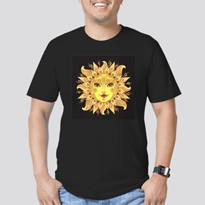 Stylish Sun Men's Fitted T-Shirt (dark)