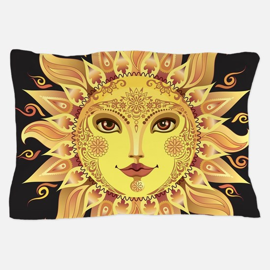 Stylish Sun Pillow Case