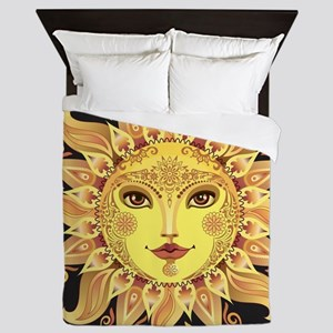 Stylish Sun Queen Duvet