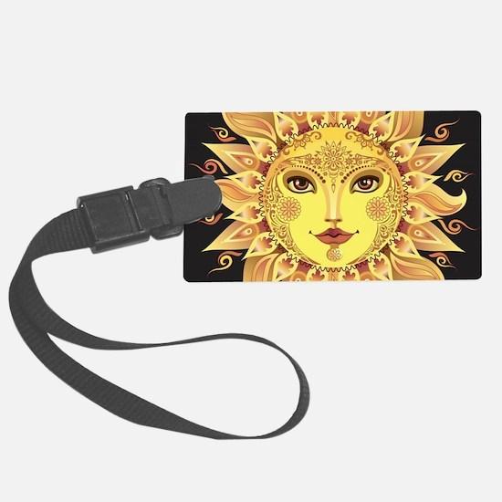 Stylish Sun Luggage Tag