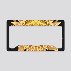Stylish Sun License Plate Holder