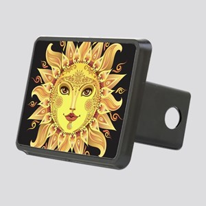 Stylish Sun Rectangular Hitch Cover