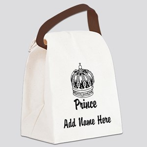Personalized Prince Canvas Lunch Bag