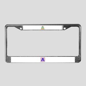 Keep Calm And Go To Liberia Co License Plate Frame