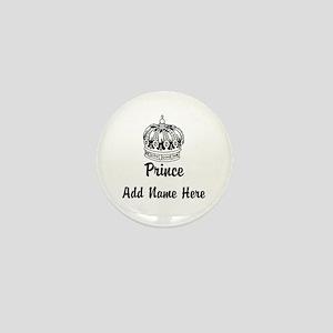 Personalized Prince Mini Button