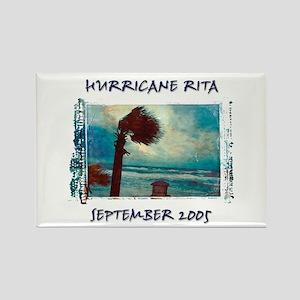 Photo Hurricane Rita Rectangle Magnet