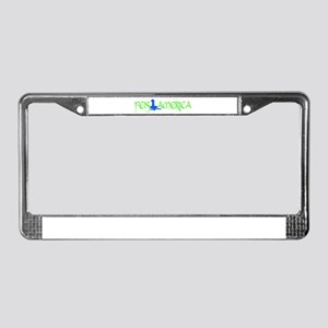 FA Logo Female License Plate Frame