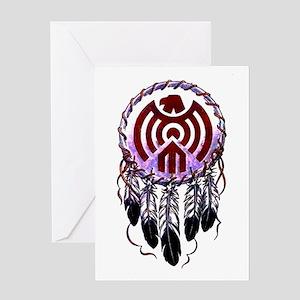 Native American Dreamcatcher Greeting Card