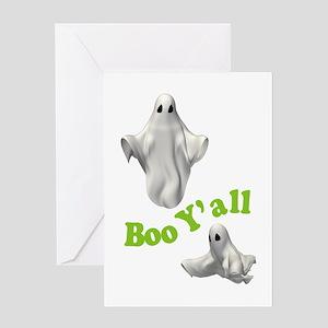 BOO Y'ALL Greeting Card