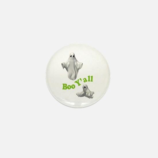 BOO Y'ALL Mini Button