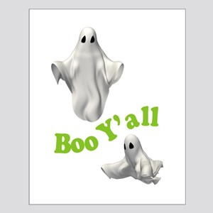 BOO Y'ALL Small Poster
