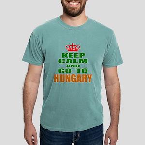Keep Calm And Go To Hun Mens Comfort Colors® Shirt