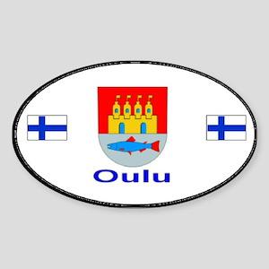 Oulu Auto Oval Sticker