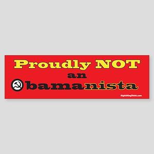 Obamanista Bumper Sticker