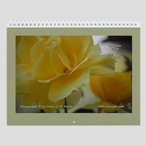 Flowers Wall Calendar 2009