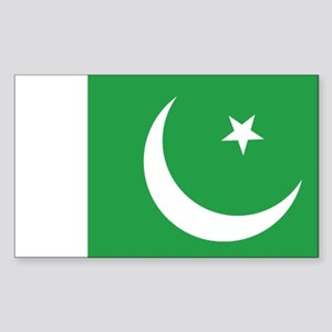 Pakistan Rectangle Sticker