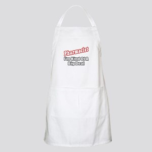"""Pharmacist...Big Deal"" BBQ Apron"