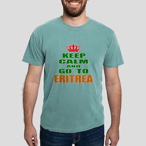 Keep Calm And Go To Eri Mens Comfort Colors® Shirt