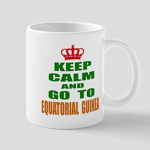 Keep Calm And Go To Equatorial G 11 oz Ceramic Mug